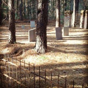 Eerieville's graveyard