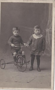 All my pics of Gramps are in storage except this one with his brother. This was before I knew him. Go figure.