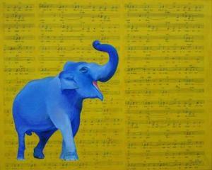 Happy Elephant Singing Emily