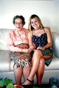 Muddy and Em 1999