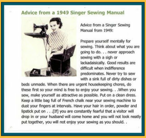 sewing instructions