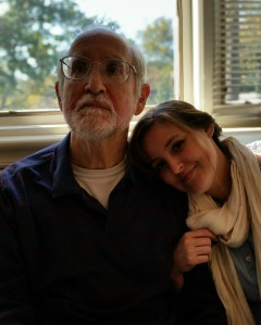 Dad and Em at Bodos 10-27-14 2