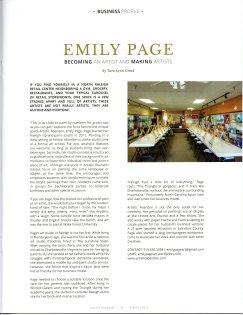 Gunter Magazine article 4-10-15