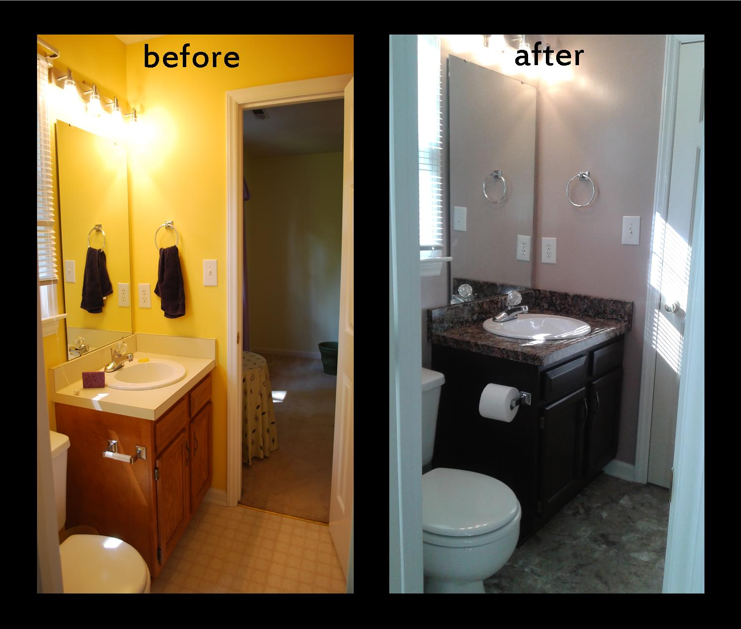 Before and After, Guest Bathroom