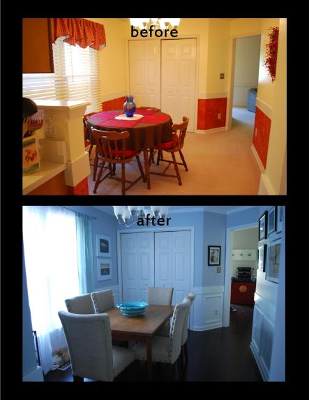 Dining room makeover 1