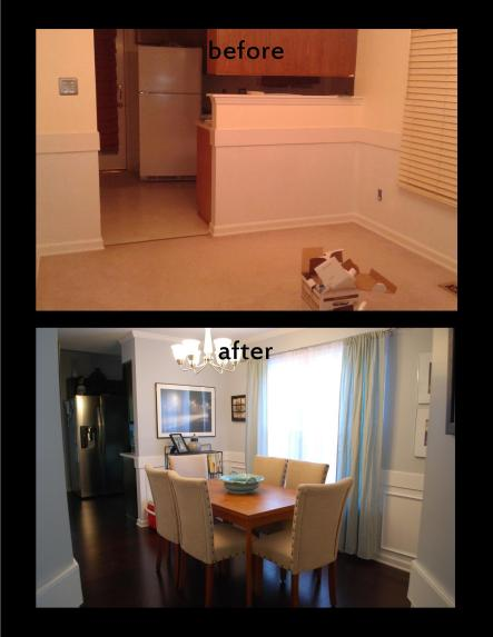Dining room makeover 2