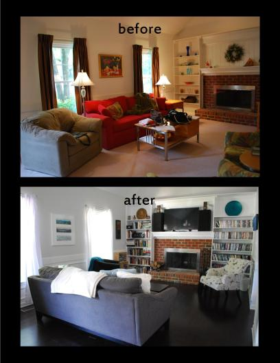Living room makeover 2