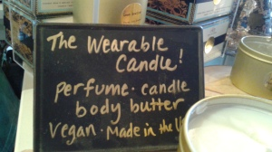 wearable candle