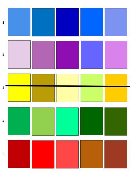 Color Palettes 1a