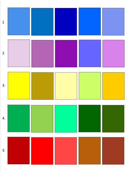 Color Palettes 2