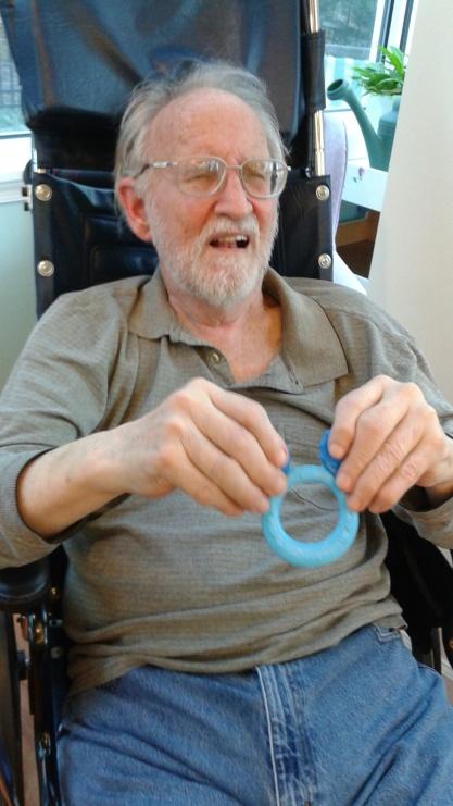 Dad teething ring 1