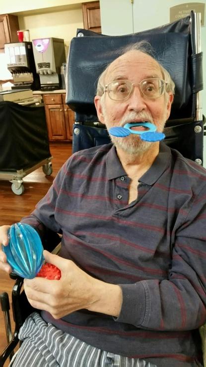 Dad teething ring 2