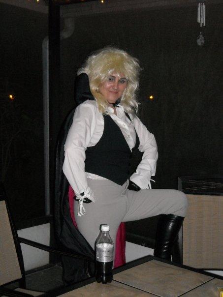 David Bowie costume 2009