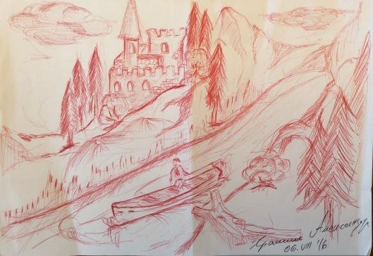Aleksandar's drawing