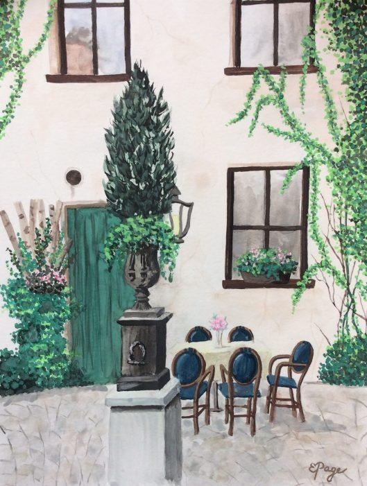 Passau watercolor