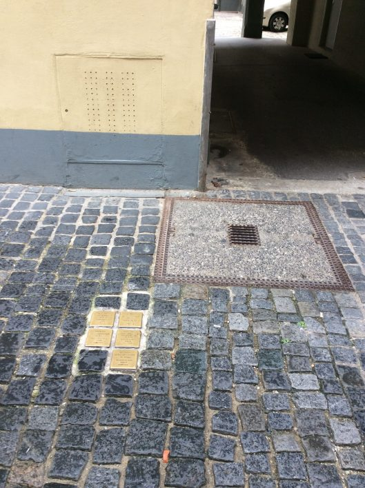 Regensburg - Stumbling Blocks