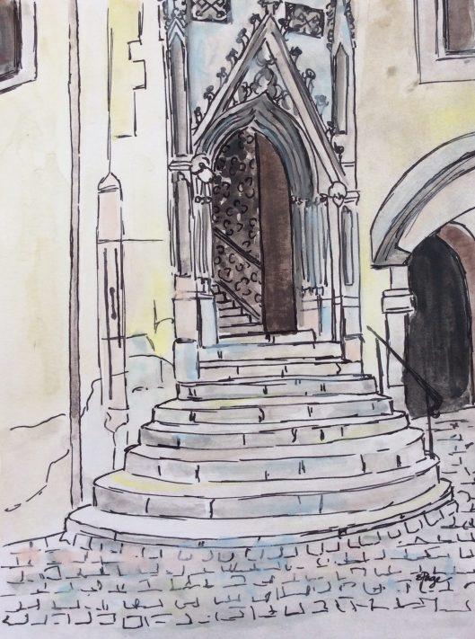 Regensburg watercolor