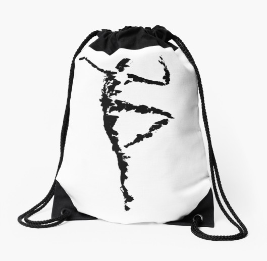 dance-drawstring-bag