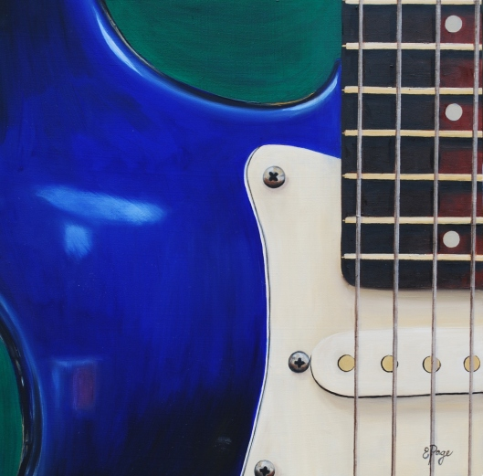 Electric Guitar in Blue.JPG