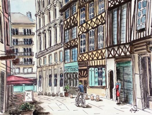 Painting - Rouen