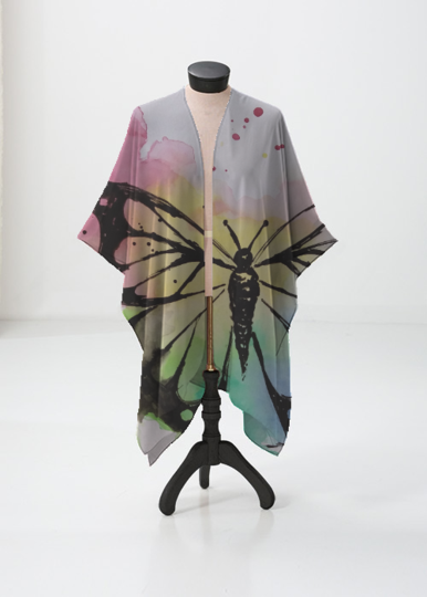 Butterfly sheer wrap VIDA