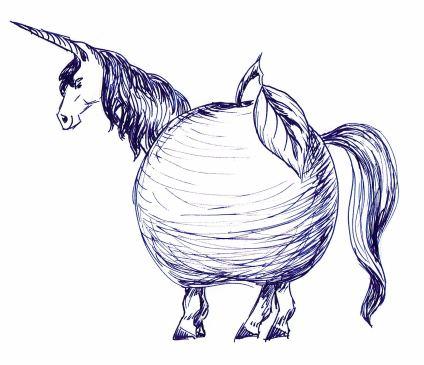 unicorn apple
