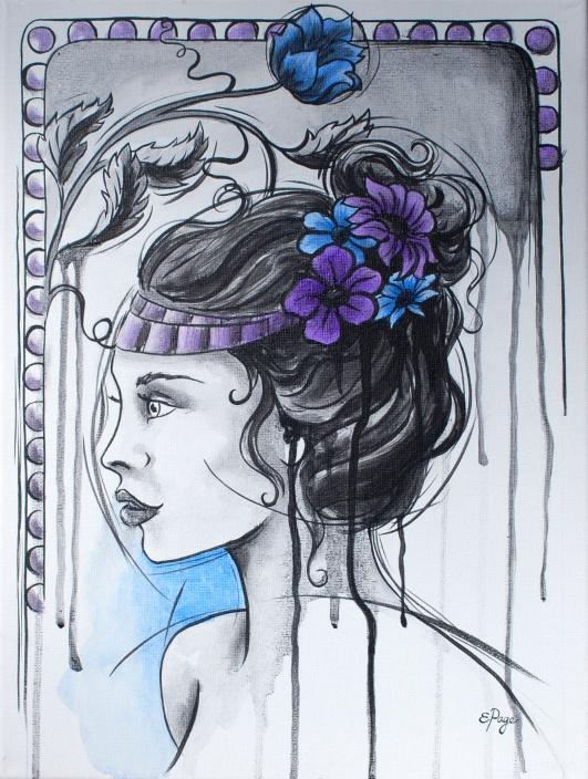 art nouveau girl 1