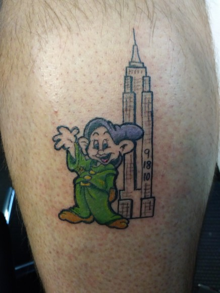 Jon's Dopey and Empire State Building