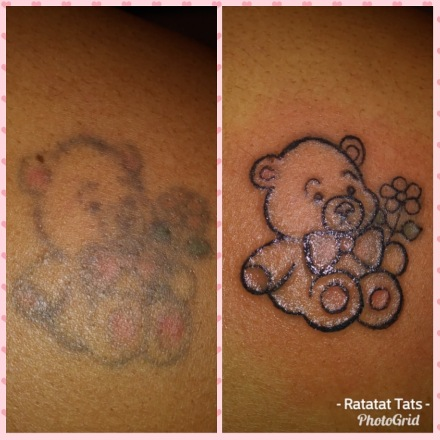 teddy bear touch up