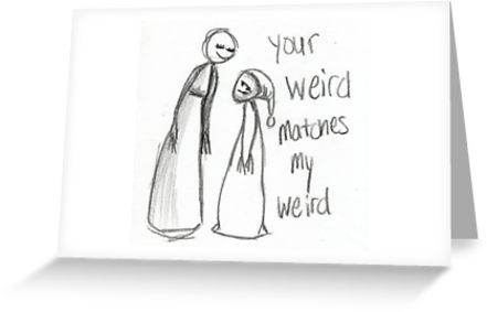 weird greeting card