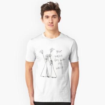 weird men's shirt