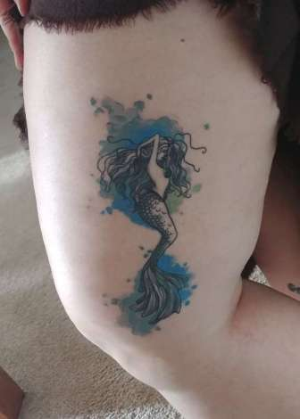 Bonnie's mermaid