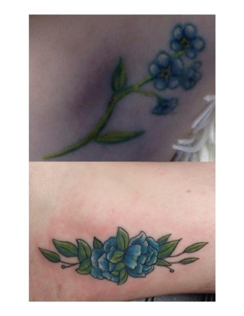 Jasmine Sipe cover up