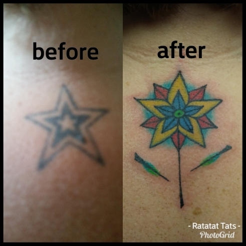 cover up star - Hannah