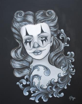 Pinup clown filigree_compressed