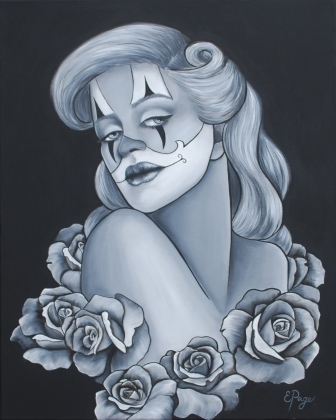 Pinup clown roses_compressed